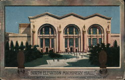 North Elevation Machinery Hall Postcard