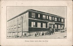 Palace Hotel, Built After the Fire Postcard