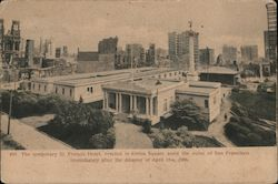The Temporary St. Francis Hotel Postcard