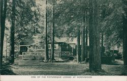 One of the Picturesque Lodges at Northwood Postcard