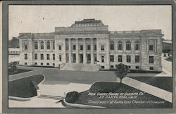 New Court House of Sonoma Co Postcard