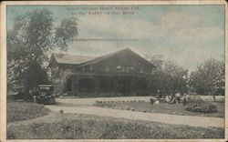 Boyes Springs Hotel In the Valley of The Moon Postcard