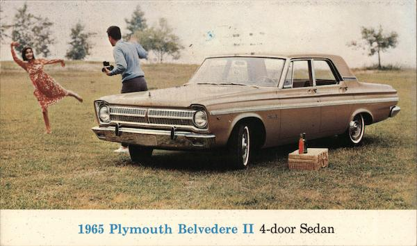 1965 Plymouth Belvedere II 4-door Sedan Redwood City California