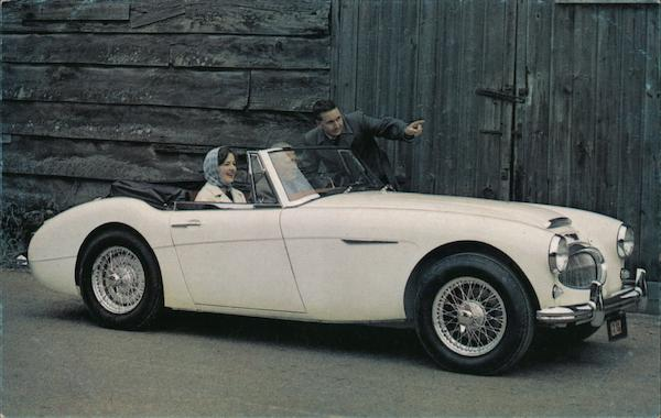 Austin Healey 3000 Sports Convertible for '63 Cars
