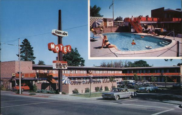 Town Aire Motel Reno Nevada Louis Roberts