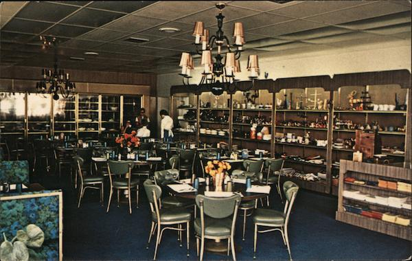 Sweden House, Swedish Smorgasbord dining room Hollywood California