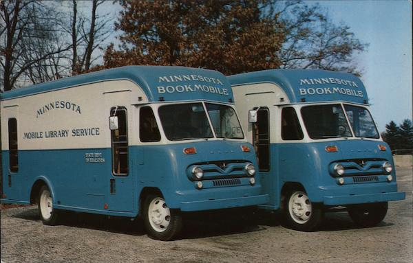 Minnesota Mobile Library Service Bookmobiles