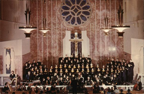 Mount St. Mary's College, Church Choir and Orchestra Los Angeles California