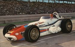 A. J. Foyt, 500-mile Indianapolis Speedway Winner 1961 and 1964 Postcard