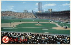 Fenway Park - Home of the Red Sox Postcard