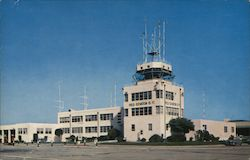 Naval Air Station Operations Building Postcard