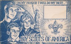 Boy Scouts of America, Second National Jamboree Postcard