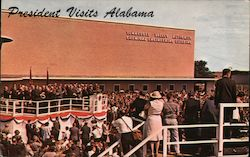 President John F. Kennedy speaks at TVA Chemical Engineering Building, May 1963 Postcard