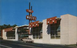Tiny's Motel Postcard