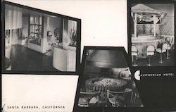 The CaliforniaA Hotel Postcard