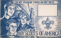 Boy Scouts of America, Second National Jamboree June 30, 1950 Postcard