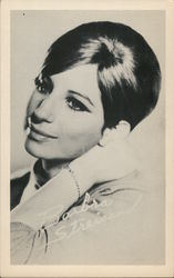 Barbara Streisand, signed Postcard
