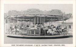 Gayway Park. Ride the Merry-Go-Round free.