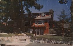 The Homestead lodging Postcard