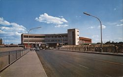 Customs Building at Nuevo Laredo, Tamps., Mexico Postcard