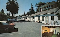 Motel Colonial Postcard