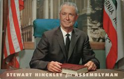 Stewart Hinckley for Assemblyman, 73rd District Postcard