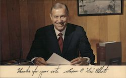 "Saxon C. ""Sax"" Elliot for State Superintendent of Public Instruction Postcard"