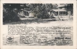 De Forest Motel in Susanville, CA Postcard