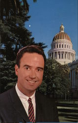 John L. Burton, Democratic candidate for Assembly. Election vote Postcard