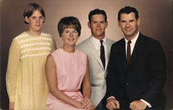 John A. Ertola and family. Board of Supervisors candidate. Postcard