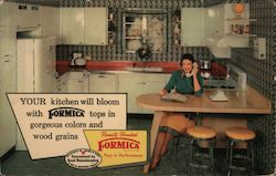 Ernest Cabinet Works Inc Your Kitchen will bloom with Formica tops in gorgeous colors and wood grains.
