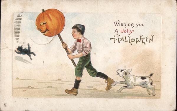 Wishing you a Jolly Halloween