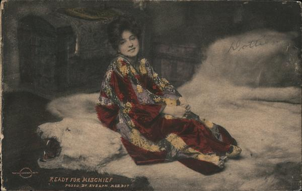 Ready for Mischief -Evelyn Nesbit Actresses