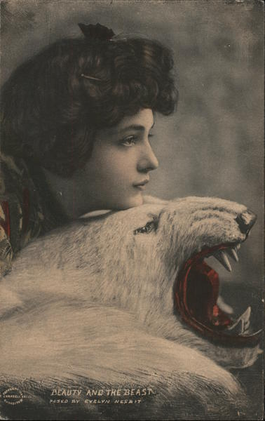 Beauty and the beast. - Evelyn Nesbit Actresses