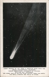 Comet Brooks of 1911 Postcard