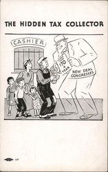 The Hidden Tax Collector Disguised Under the New Deal Postcard