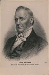 James Buchanan Fifteenth President of the United States Postcard