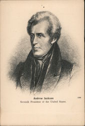 Andrew Jackson - Seventh President of the United States Postcard