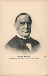 William McKinley, Twenty-fifth President of the United States Postcard