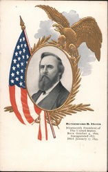 Rutherford B. Hayes, Nineteenth President of the United States Postcard