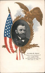 Ulysses S. Grant, Eighteenth President of the United States Postcard