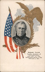 Zachary Taylor, Twelfth President of the United States Postcard
