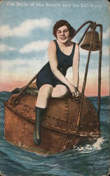 The Belle of the Beach and the Bell-Buoy Postcard