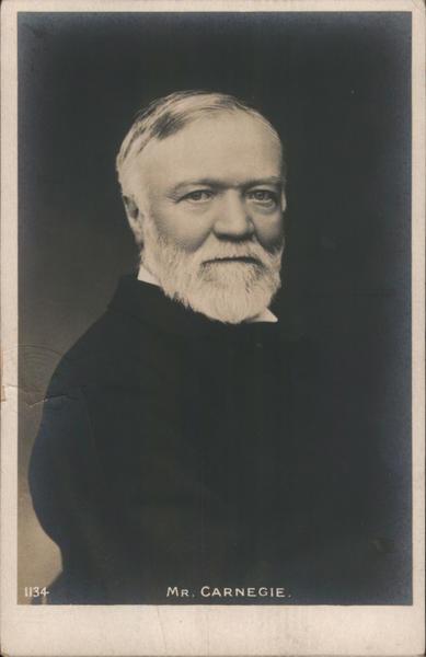 Mr. Andrew  Carnegie Men