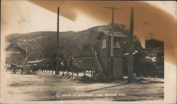 Train Station Los Gatos California