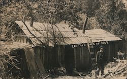 "John Partridge, Gold Miner's Camp ""In the Days of 1849"" Postcard"