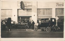 Ford Dealership, Car The ten millionth New York to San Francisco  The Lincoln Highway Postcard