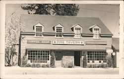 Pine Tavern, Coffee Shop, Chamber of Commerce Postcard