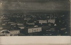 Birds Eye View of Eureka, Hotel Metropole Postcard