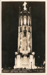 Cathedral Monument, Knight Templar Conclave, July 7 to 13, 1934, San Francisco